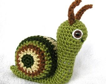 PDF Crochet Pattern SUZIE SNAIL