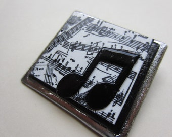 Musician music lover pin brooch