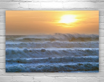 Big Sur Ocean Photography, Sunset Art, California Beach, California Coast, Seacoast, Sea Art, Jalama, Ocean Waves, Ocean Art, MurrayBolesta