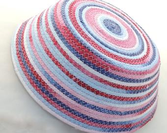 Butcher Block Spirit Stripe Bowl