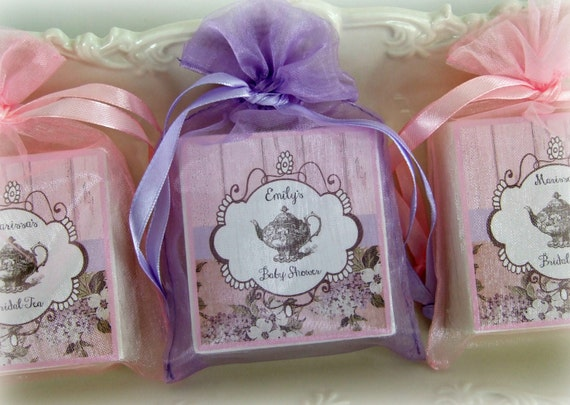 tea party favors bridal shower favors baby shower favors shabby