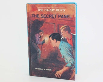 The Hardy Boys: The Secret Panel by Franklin W. Dixon - Vintage Book c. 1980