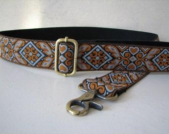 CUSTOM Shoulder Strap for Handbag, Citrine and Steel