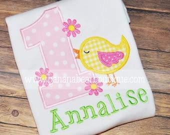 Sweet Tweet Birdie Birthday Shirt or Bodysuit
