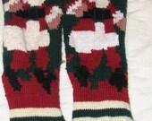 Custom for Anne--two Santa Stocking