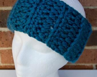 Choose your color: Cozy Crocheted Headband