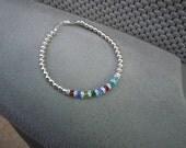Sterling Silver Mother's bracelet