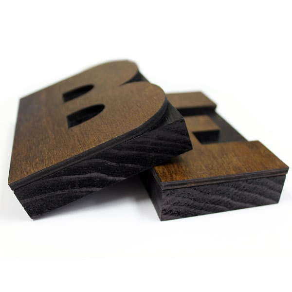 wooden letter blocks 5 inch wooden letter press block 18228