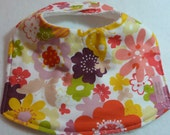 Baby Bib - Just Wing It with cotton terry backing
