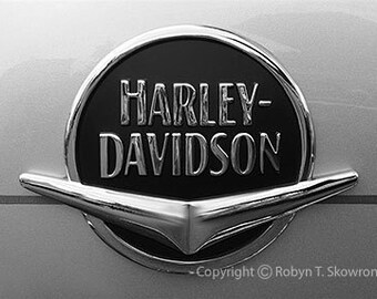 Harley Davidson - Framable 5x7 Photography Note Card