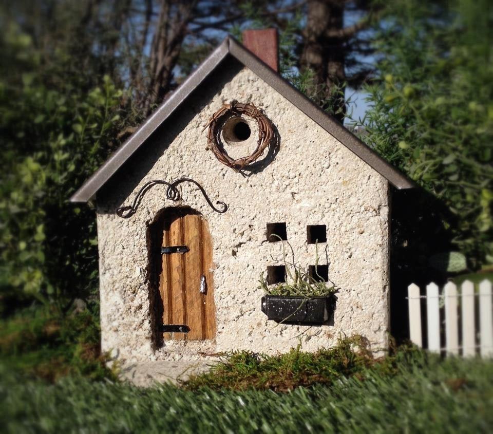 Aidan's Cottage Miniature Stone Fairy House