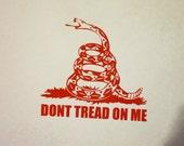 Gadsden Flag Precision Cut Vinyl Car Window Decal Sticker Don't Tread on Me