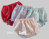 Bloomers Diaper Cover Panty Any Color Boy or Girl  Fully Lined