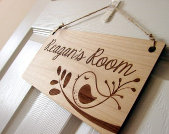 Kids Room Sign Custom Kids Door Sign