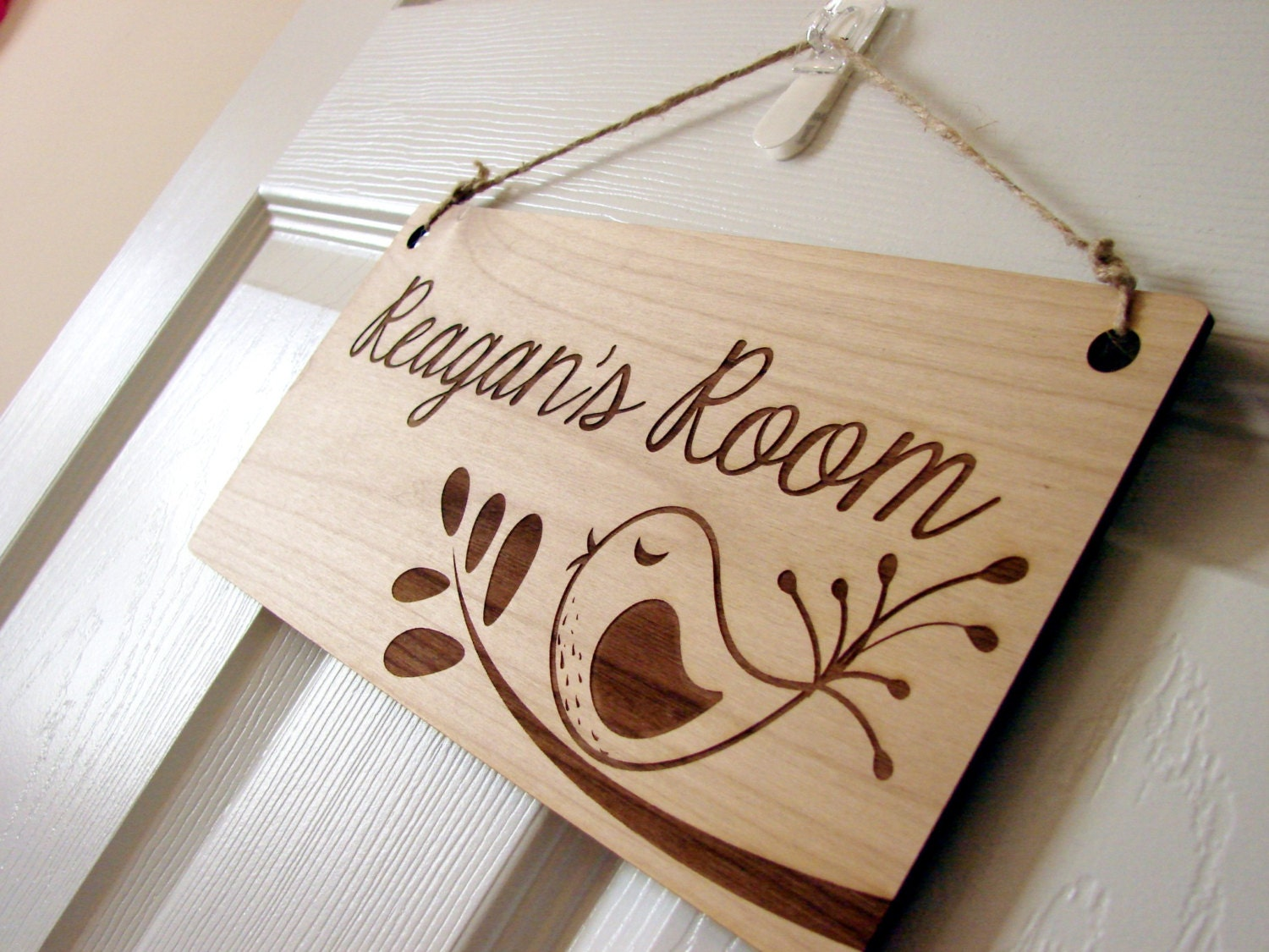 Kids room sign custom kids door sign for Door name signs