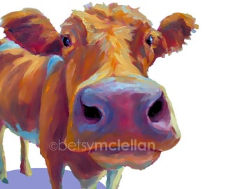 Cow - Graphic Style - Paper - Canvas - Wood Block