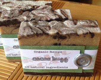 Cocoa Buzz Organic Kitchen Scrub Artisan Soap