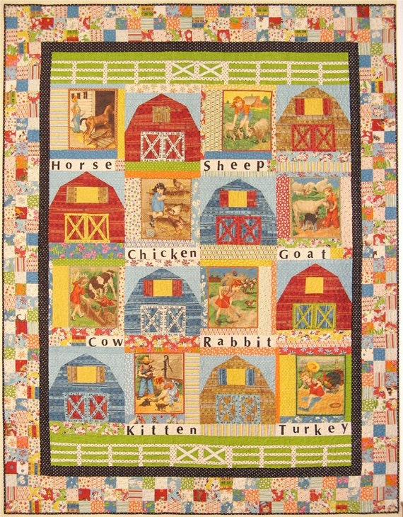 American Jane Quilts On the Farm Pattern