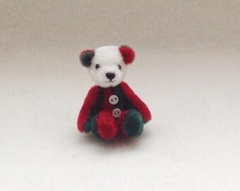 Miniature Christmas Bear
