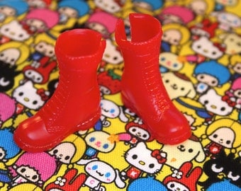 Blythe Cherry Red Doc Marten Dolls shoes