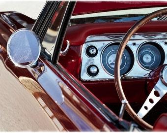 Classic Chevrolet - Fine Art Print  - Vintage Automobile