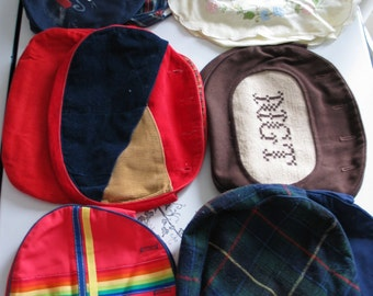 Interchangeable Purse At Least 10 Variations Wool Flannel Cotton Corduroy Mouse Very Cool