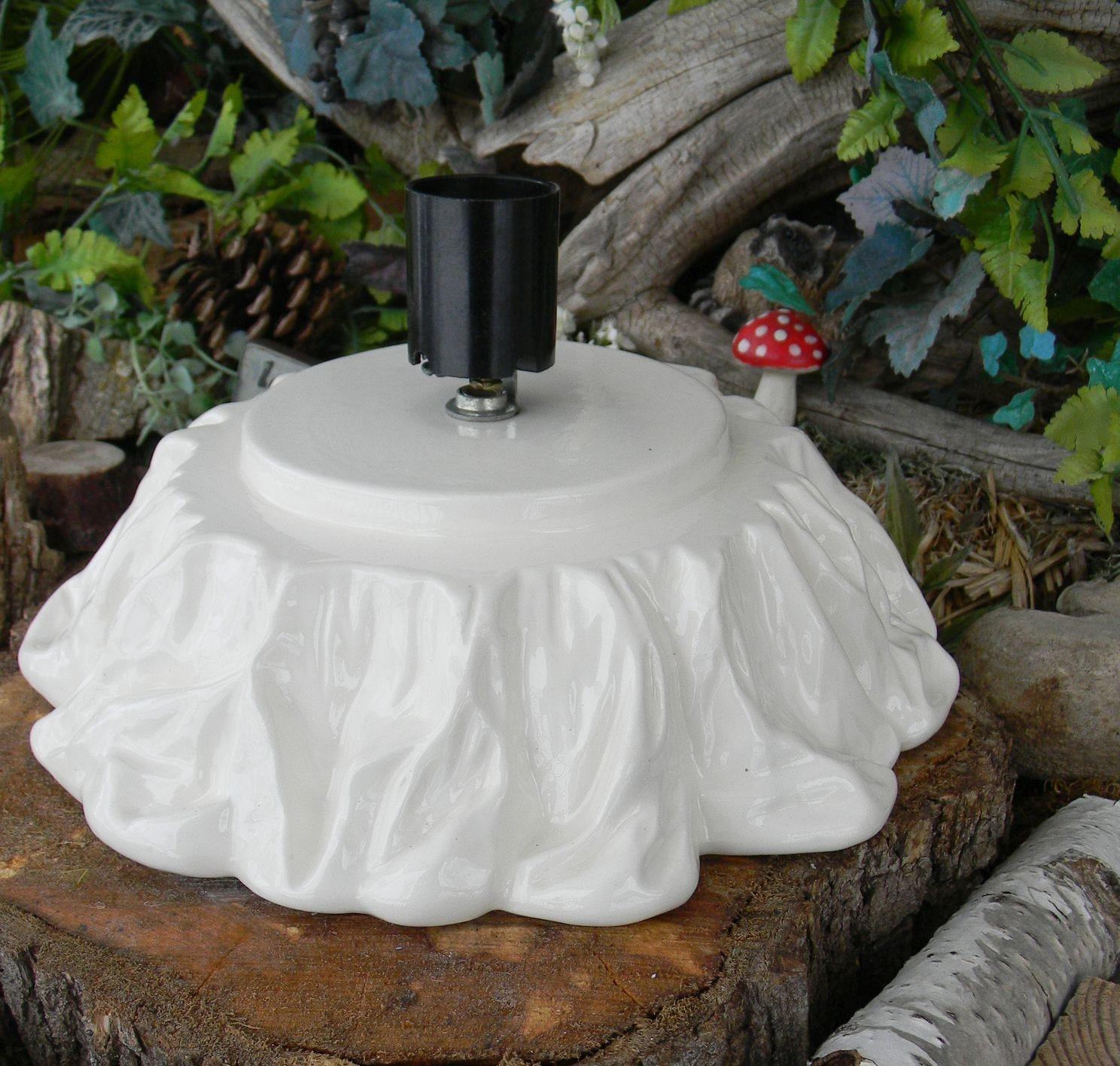 Ceramic christmas tree replacement base by enchantdmushroomland