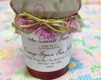 Orange Spice Tea Jelly, Regular or sugar free