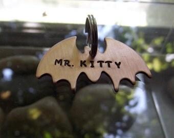 Bat Pet tag or keychain