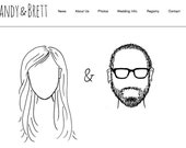 CUSTOM Wedding Logo/Sketch/Portrait-Digital File
