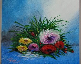 Bouquet of Flowers Original