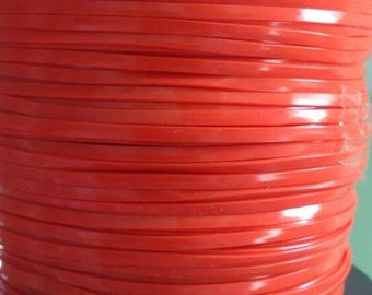 10 Meters of Orange rexlace, perfect for adding to dread falls