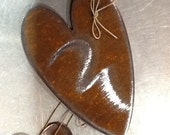 NEW Rusty Hearts - up to 3 sizes