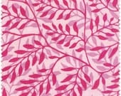 Emma Collection, Fern Leaf Pink, Newcastle Fabrics, Designer Cotton Quilt Fabric, Pink Tonal Quilt Fabric, Quilting Fabric