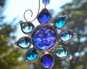 Moon Glow Stained Glass SunCatcher