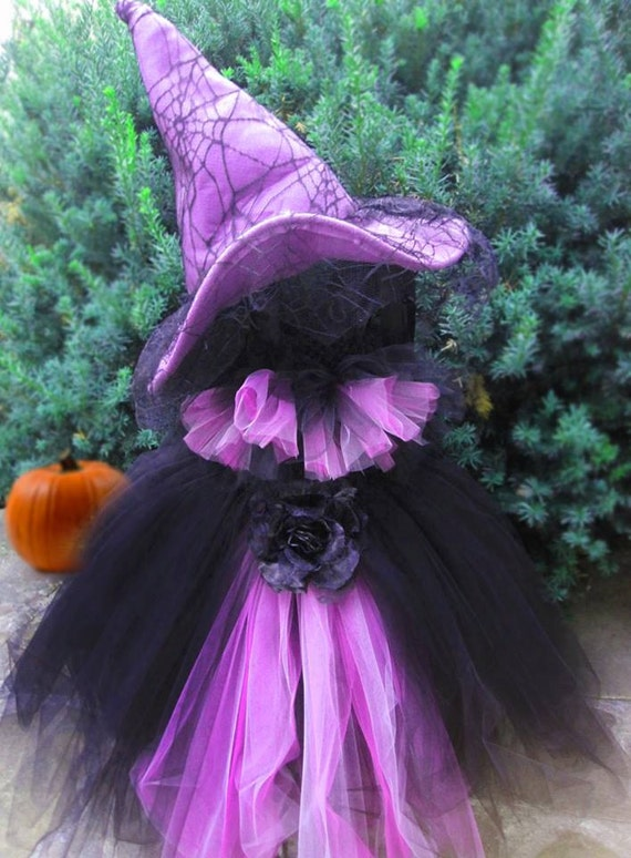 items similar to scary witch costume tutu dress. Black Bedroom Furniture Sets. Home Design Ideas