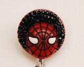 Spiderman Spiderman Vintage Zipper ID Badge Reel - RN ID Badge Holder - Zipperedheart