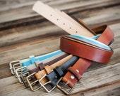 fullgrain leather belt