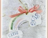 Rainbow Bridge Personalized Ornament