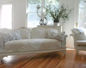 SOLD SOLD Vintage cottage sofa couch shabby chic romantic farmhouse SOLD