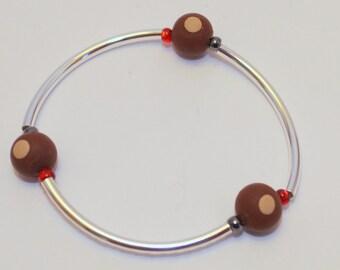 Buckeye Bracelet/ Buckeyes/ Buckeye Jewelry/ Bracelet
