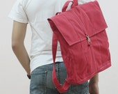 New Year SALE - 20% OFF Fitt in Red / Backpack / Satchel / Rucksack / Laptop / Tote / Women / Men / For Him / For Her / Gift Ideas