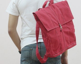 Halloween SALE - 20% OFF Fitt in Red / Backpack / Satchel / Rucksack / Laptop / Tote / Women / Men / For Him / For Her / Gift Ideas