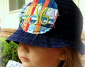 Machine Embroidery Design Applique Mini Raggy Circle Patch and Hat Tutorial INSTANT DOWNLOAD