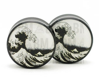 "11/16"" (18mm) Great Wave B&W BMA Plugs"
