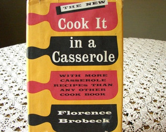 The New Cook It In A Casserole 1961