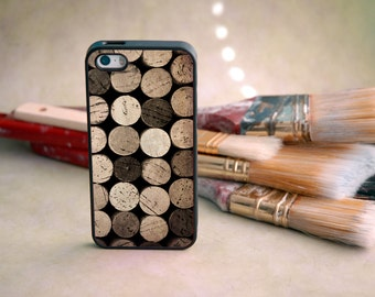 Vintage Wine Cork Decorative iPhone Case - Classy, Sophisticated, Fun