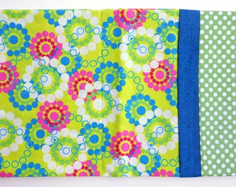 Handmade Cotton Pillowcase Bright Fabric with Dots
