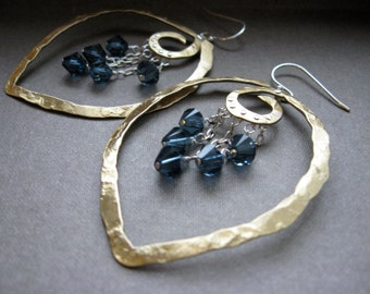 Md Hanging Point with Gemstones - Copper E013HG or Bronze E013Hg