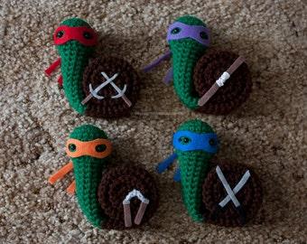 Ninja Snailtles - Choose your snail